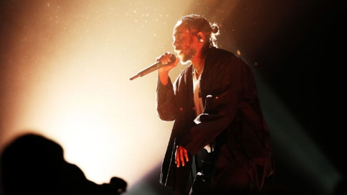 Kendrick Lamar, photo via  Getty Images