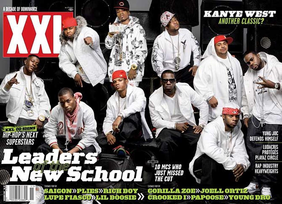 XXL freshman cover of 2007, photo via  XXL