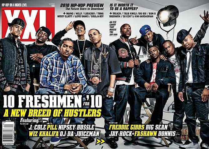 XXL Freshman class of 2010, photo via  XXL