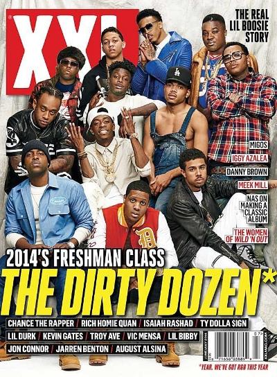 XXL Freshman class of 2014, photo via  XXL