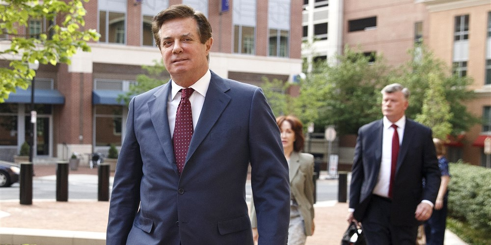 Paul Manafort, photo via  EPA