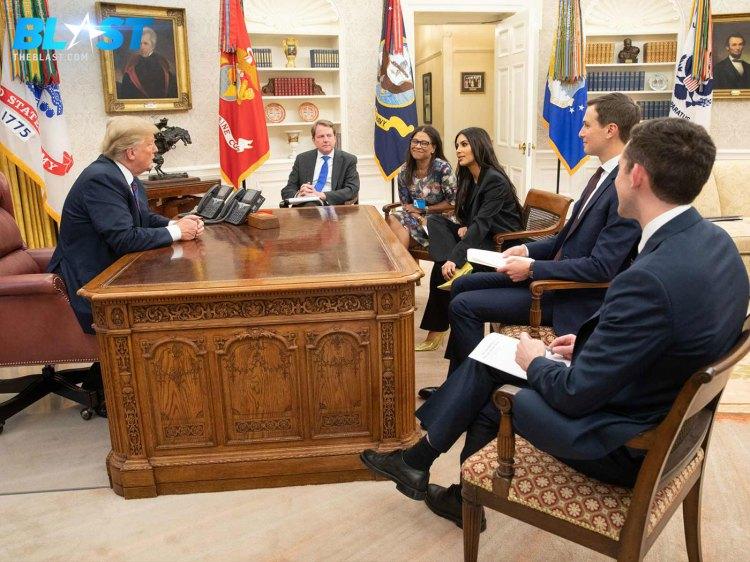 Kim Kardashian during her White House meeting, photo via  MEGA
