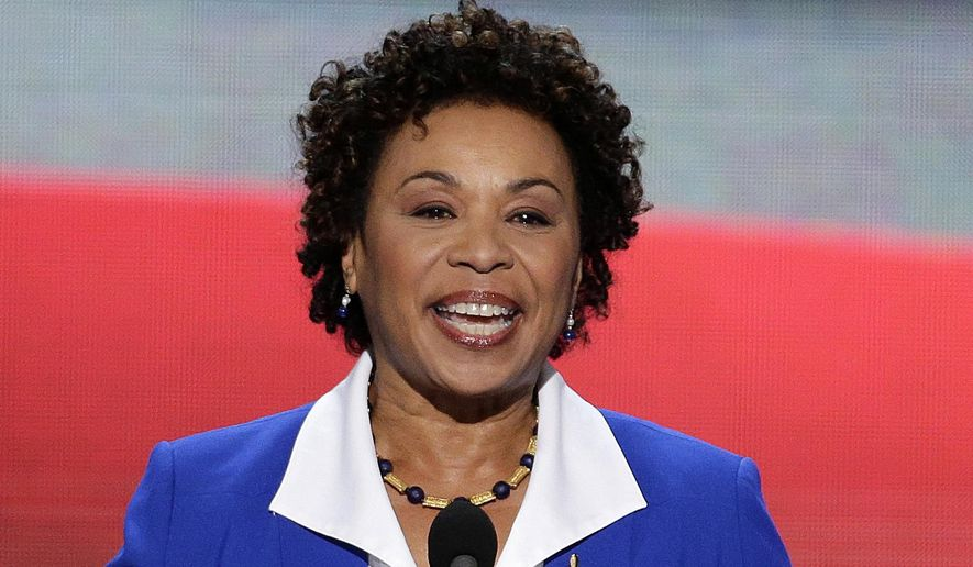 Barbara Lee, photo via  Washington Times