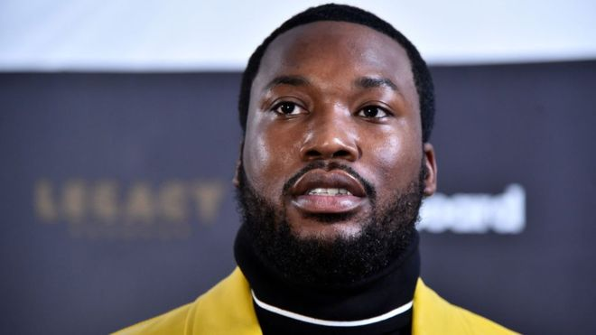 Meek Mill, photo via  BBC