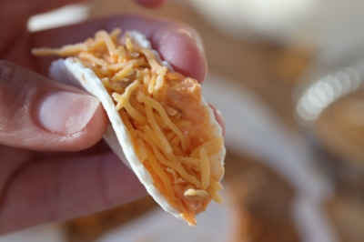 Buffalo Chicken dip taco