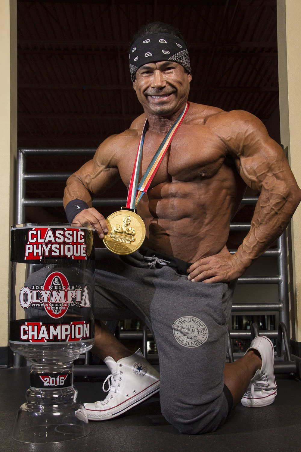 Mr O Classic physique Danny Hester