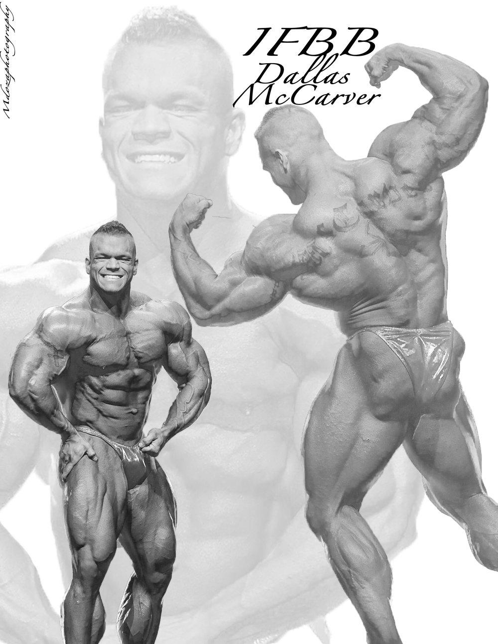 IFBB Pro Dallas McCraver
