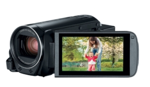 Canon Vixia HF R82 Camcorder I started running video for bodybuilding shows, documentaries, etc. The quality of this camera is outstanding for the price. I may upgrade to something else later on but for the mean time, I'm keeping it..