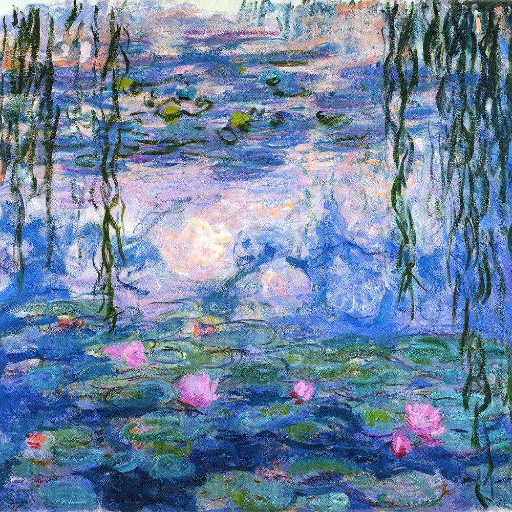 Claude Monet  Paintings from his Water Garden
