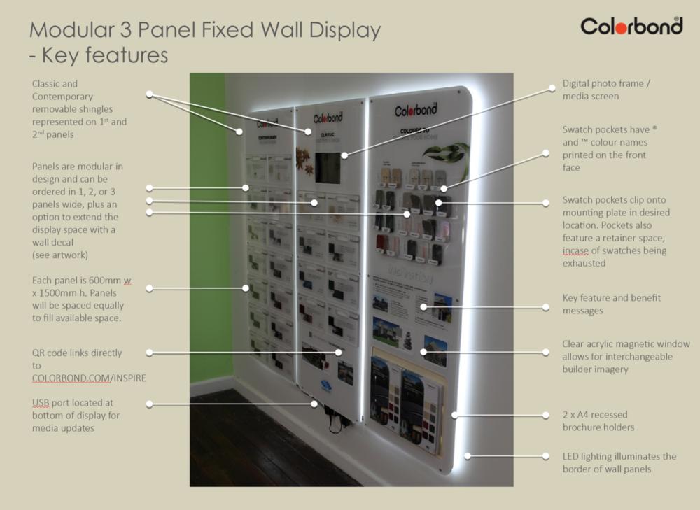 Modular 3 panel -