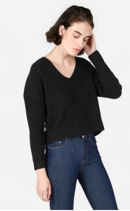 ribbed cropped v neck.JPG