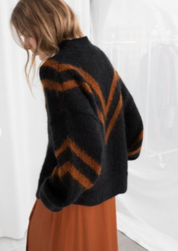 Knits in fall colors -