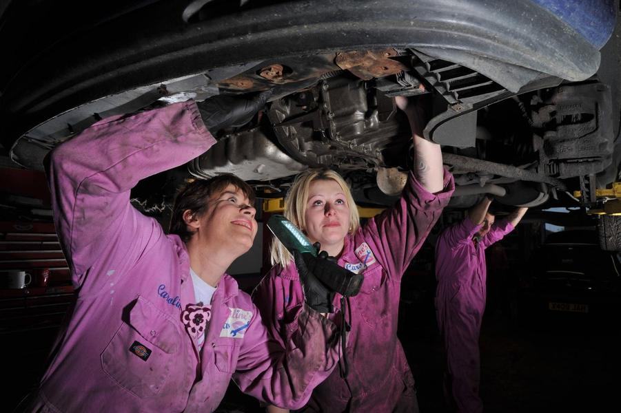 ladieswork on cars.jpg