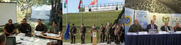 The Burden screened at NATO's Capable Logistician exercises in Hungary with senior European military leaders.