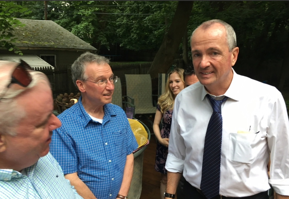 Voting Block: When a Candidate for Governor Drops by a Block Party