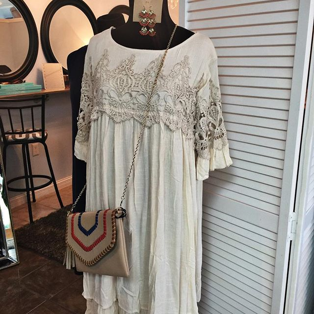 New summer clothing and accessory arrivals just hit the floor.  Come in and shop with us, 9-5 today. #sheaalexandersalon #sheaalexandersalonandboutique #shopsmall