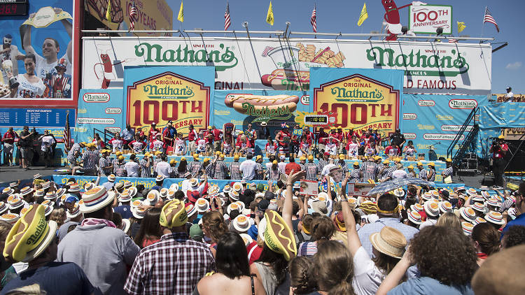 PC: Nathan's Famous Hot Dog Eating Contest