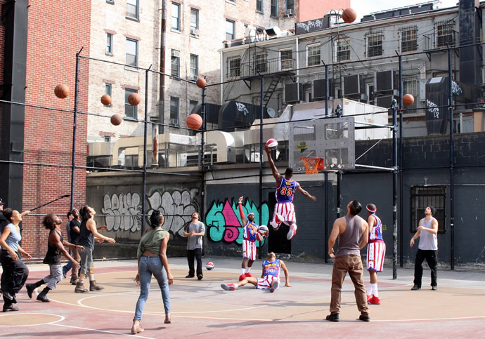 PC: Harlem Globetrotters