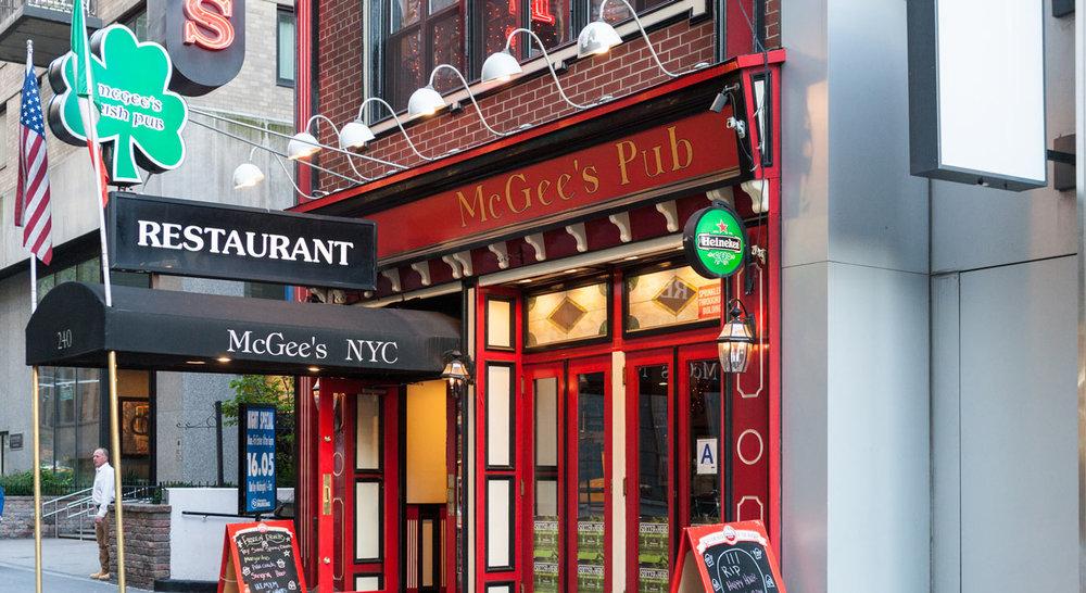 PC: McGee's
