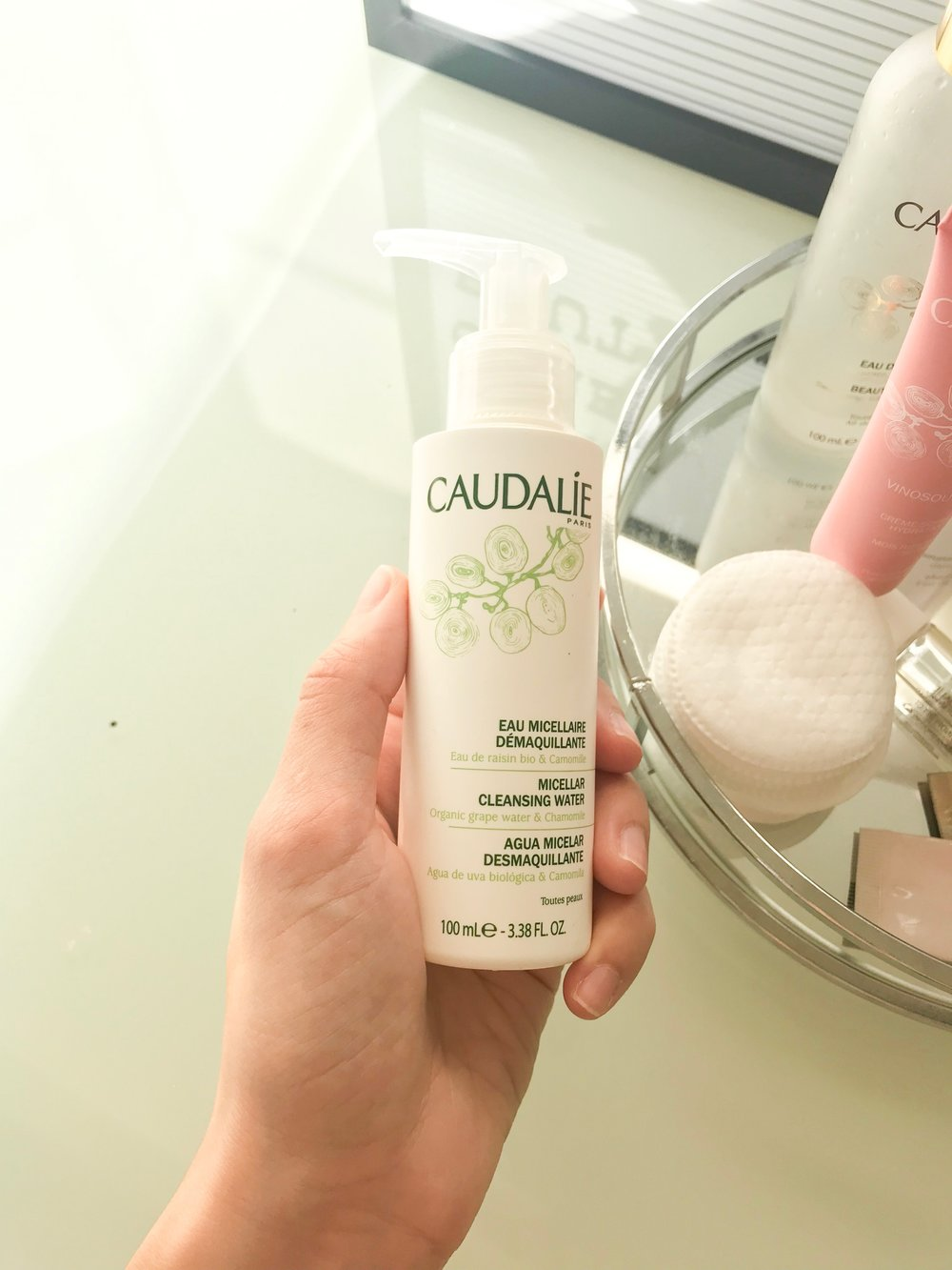 Caudalie Micellar Cleansing Water - $  28  /  Travel - $14  (shown)