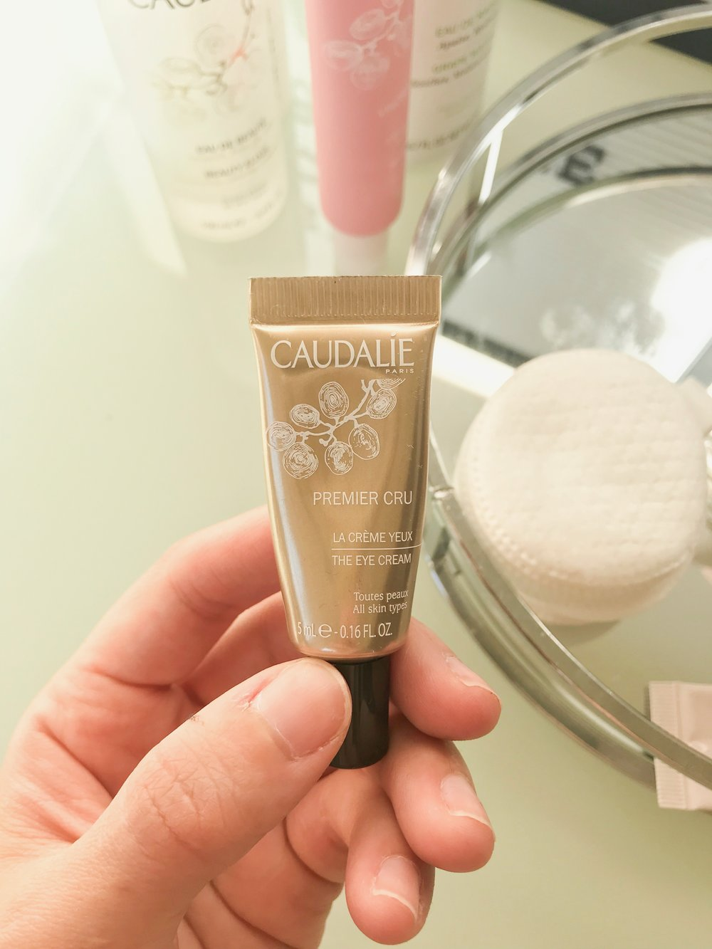 Caudalie Premier Cru - $99  (sample shown)