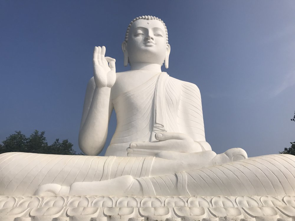 The Buddha statue. Wikipedia didn't have anything to say about it, so neither do I.