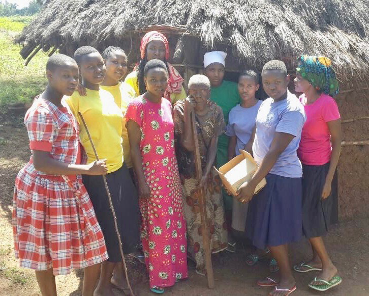 City of Hope Girls Rock! - Our girls regularly take time to help local widows with chores such as cleaning and gardening as part of their leadership training program.