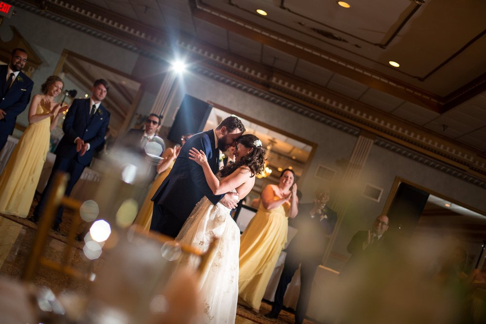 First dance at Mendenhall Inn in Media
