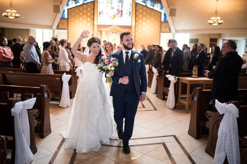 Recessional at St Mary Magdalen Parish in Media