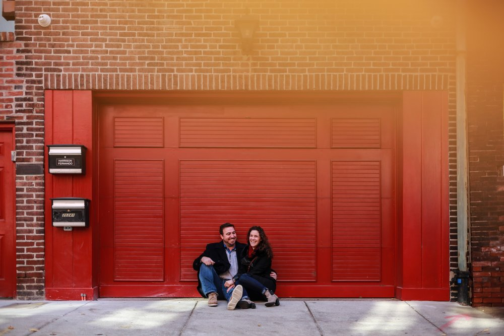 old city engagement session philadelphia