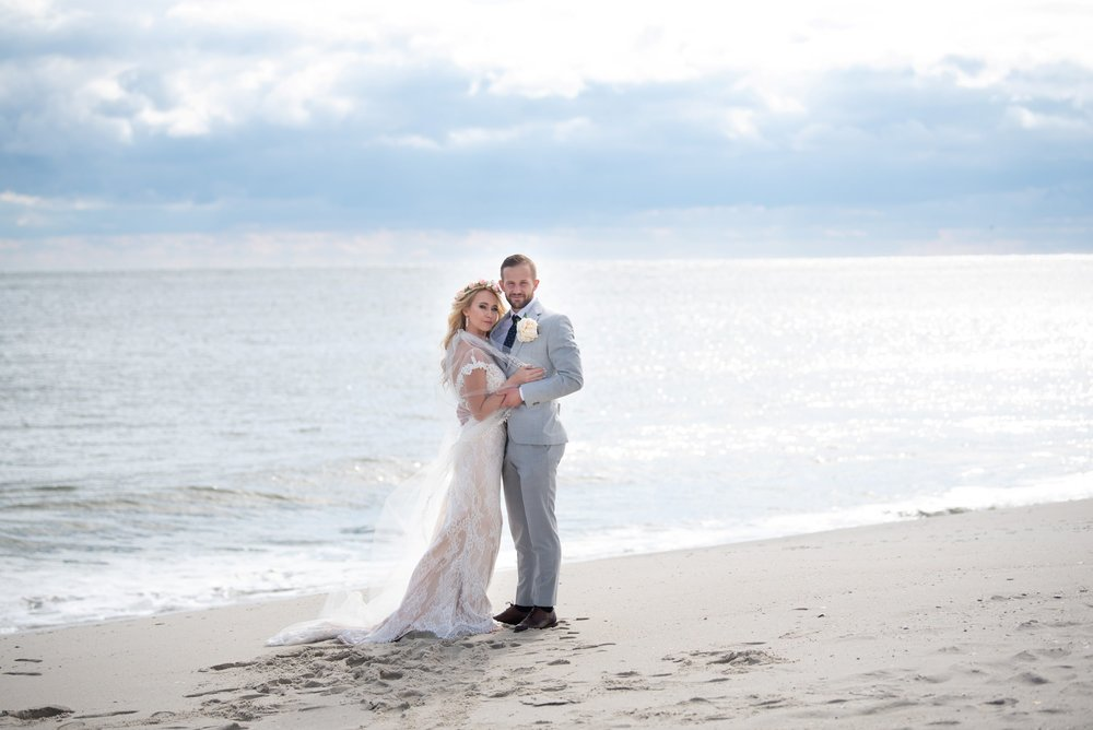 beach wedding cape may nj