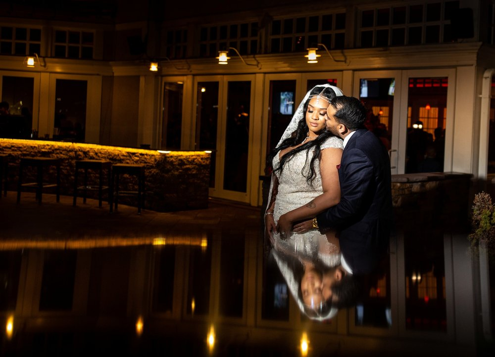 Bride and groom portraits at Adelphia NJ