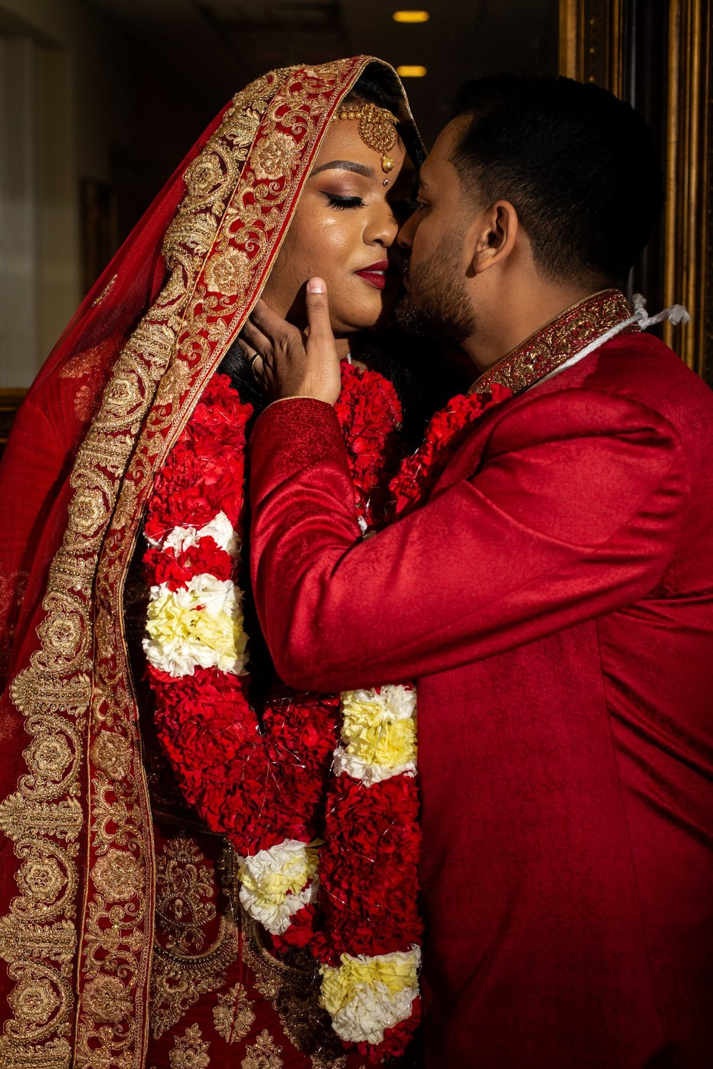 Indian wedding portraits adelphia