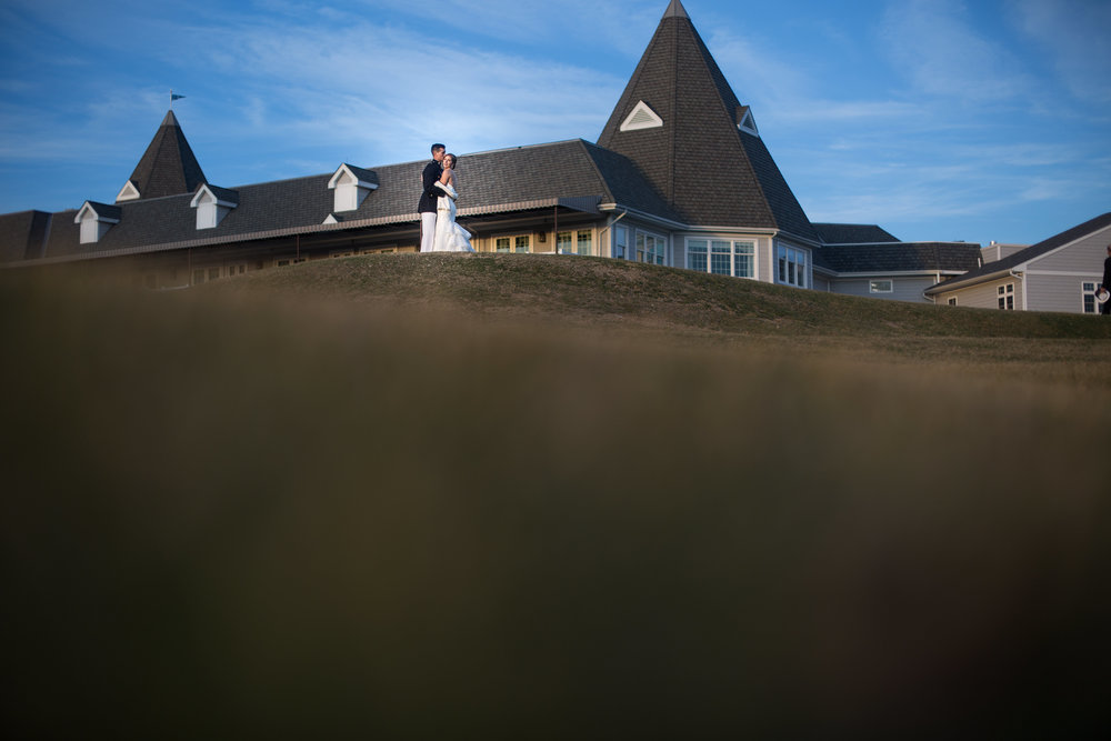 northampton country club wedding photo