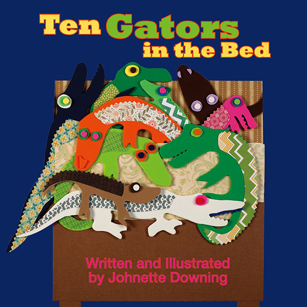 Johnette Downing | Ten Gators in the Bed