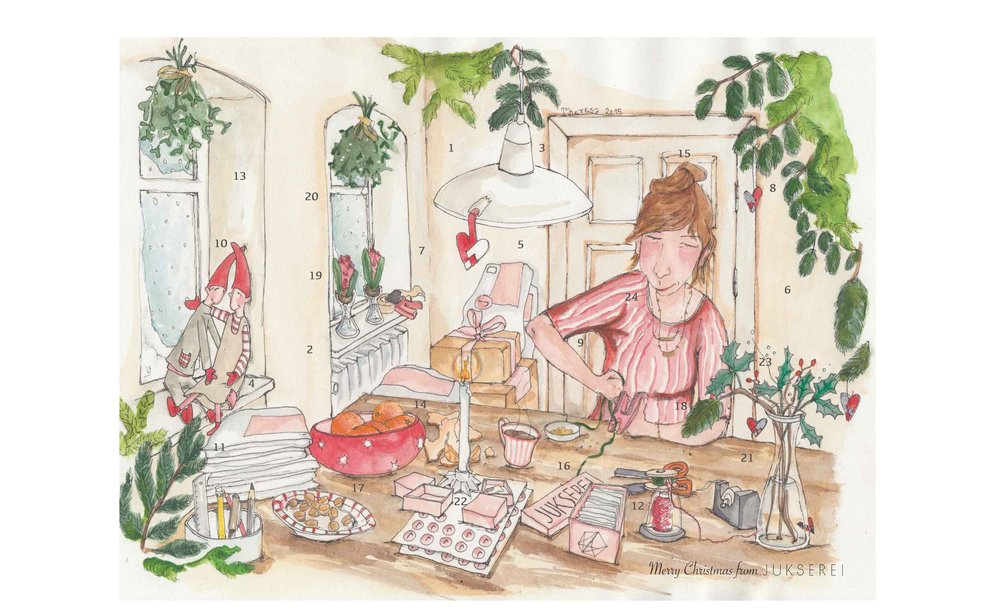 Jukserei Christmas calendar