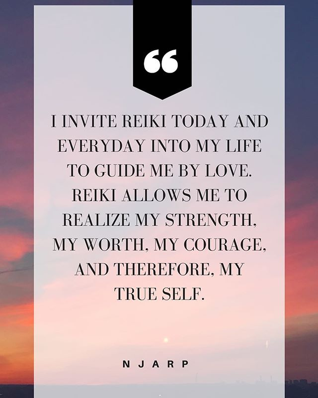 We hope you can keep this mantra with you through the week✨ remember to practice keeping calmness and peace at your core •  #Reiki #spirituality #conscious #awakened #spirit #universe #vibes #yoga #peace #love #energy #nature #sacredgeometry