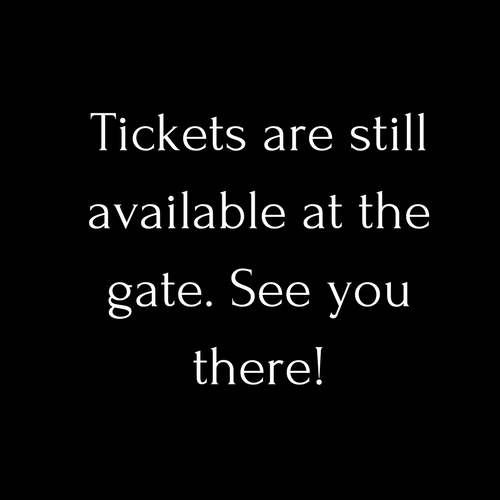 You're here because you wanted to buy tickets.  You can get them at the gate! We stopped online sales right now.