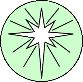 liturgical year - Epiphany 2 white star.png
