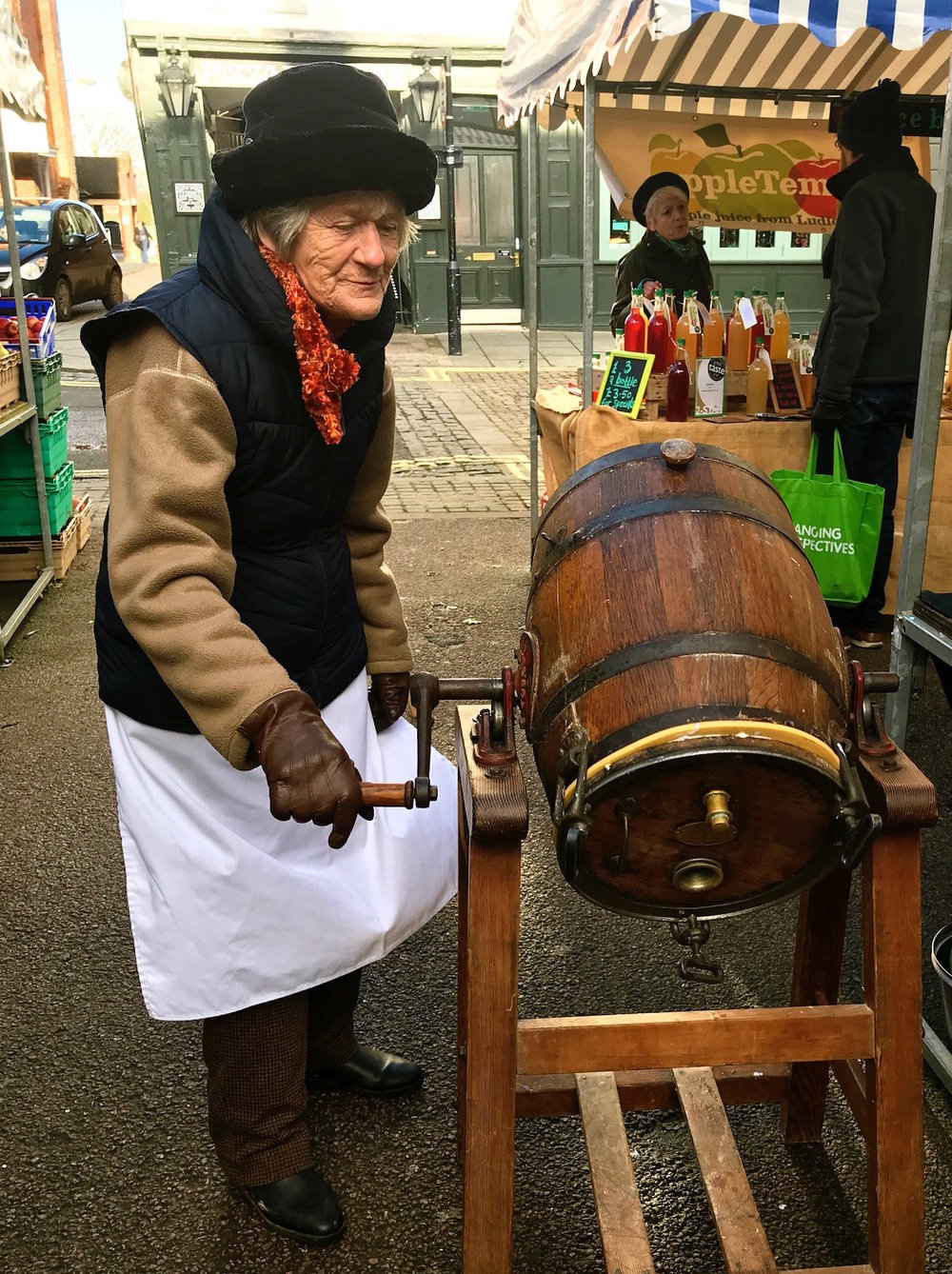 Butter churning, Ludlow markets.jpg