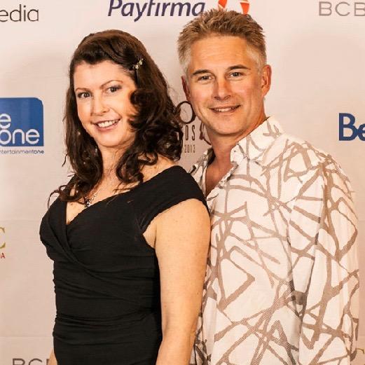 Erica Bulman & Michel Duran - Leo Awards 2013.jpg