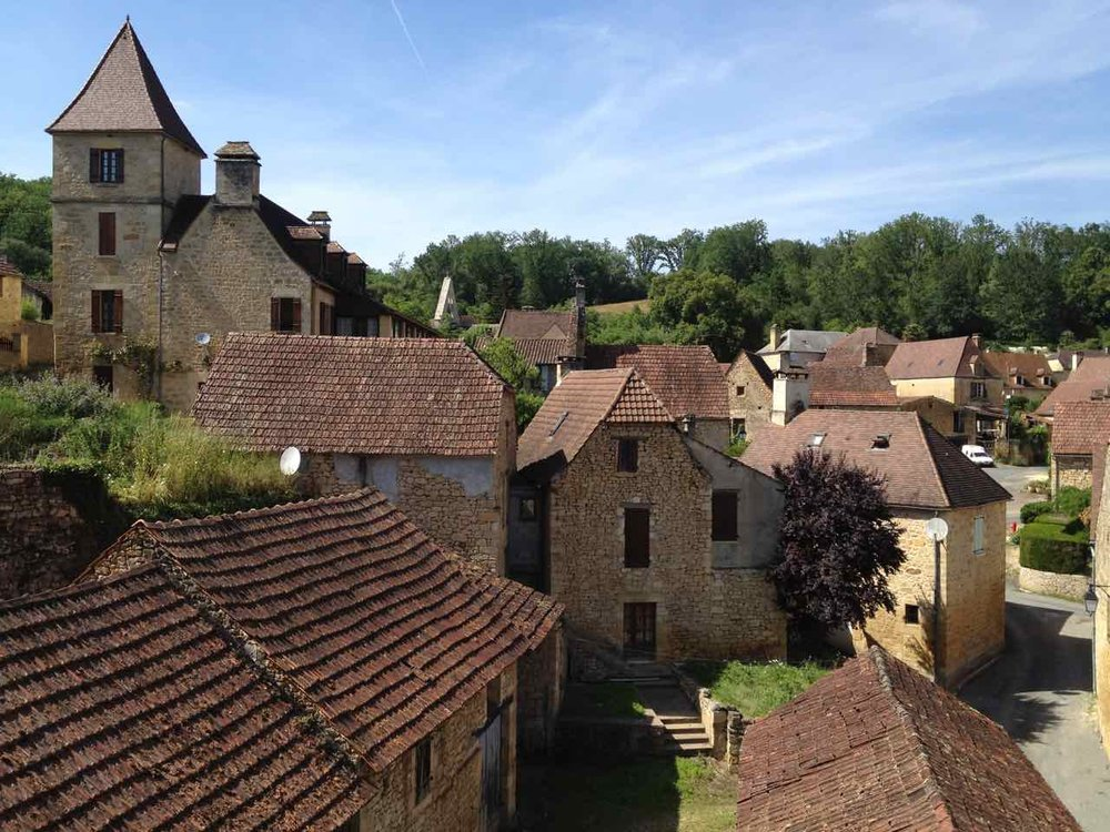 A typical village in Dordogne, near Sarlat.