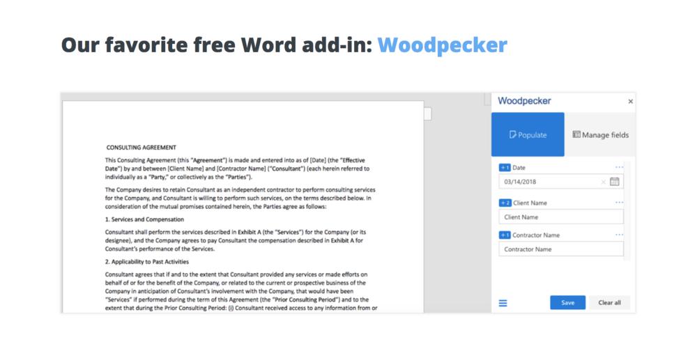 Zapier Woodpecker