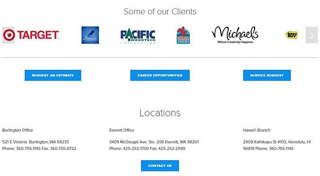 Check out some of the many different clients we are currently working with or have worked with on our site! Find our link in our bio 💻 #DahlElectricProjects
