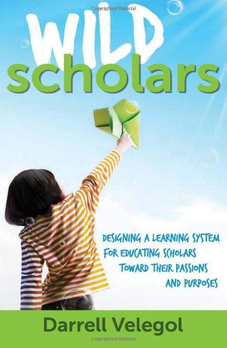 """The book """"Wild Scholars"""" (2011) gives Dr. Velegol's philosophy for education. Immersion experience, value-based ventures, great coaches. It's all here."""