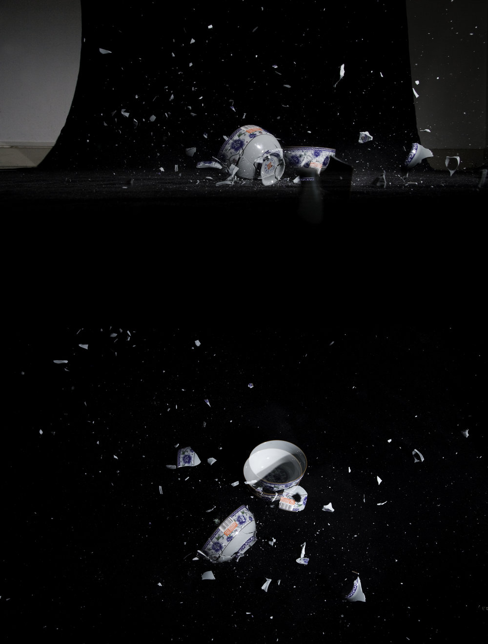 Broken Blossoms (Bowls), 2008