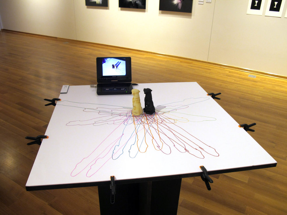 Installation view, Art Center Gallery, Calvin College, 2011