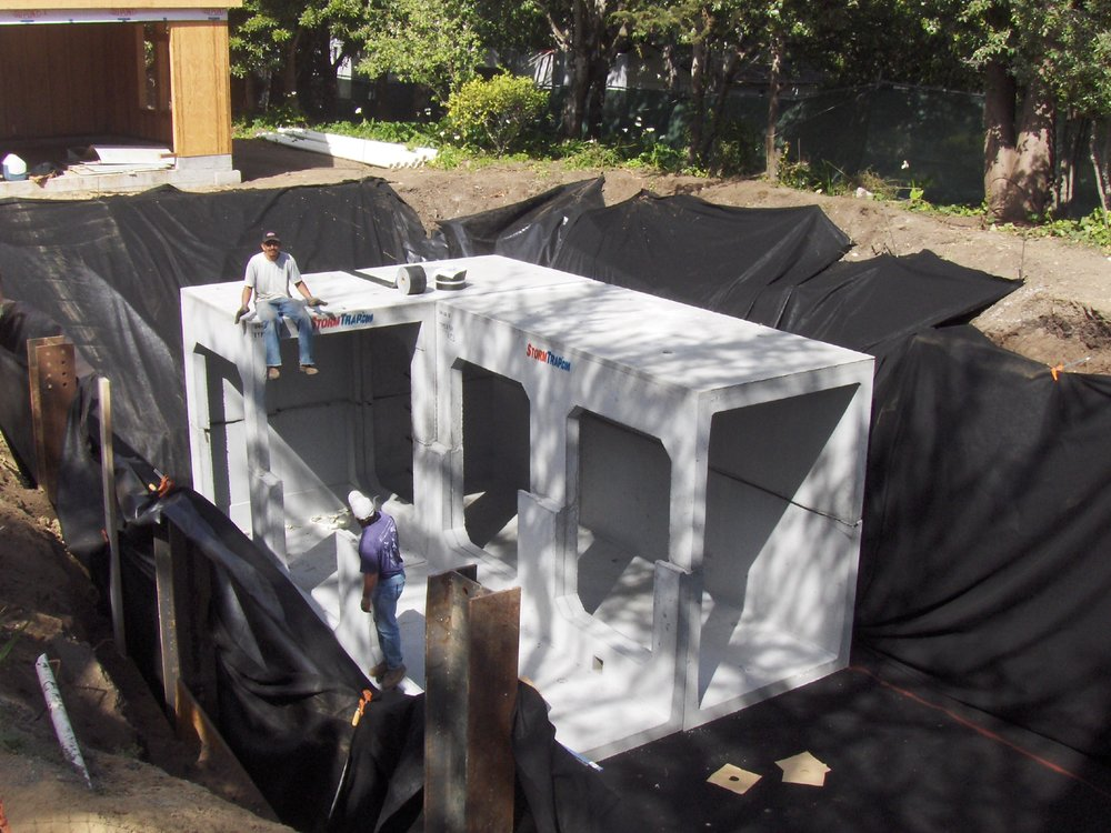 Arterra Landscape Architects cisterns