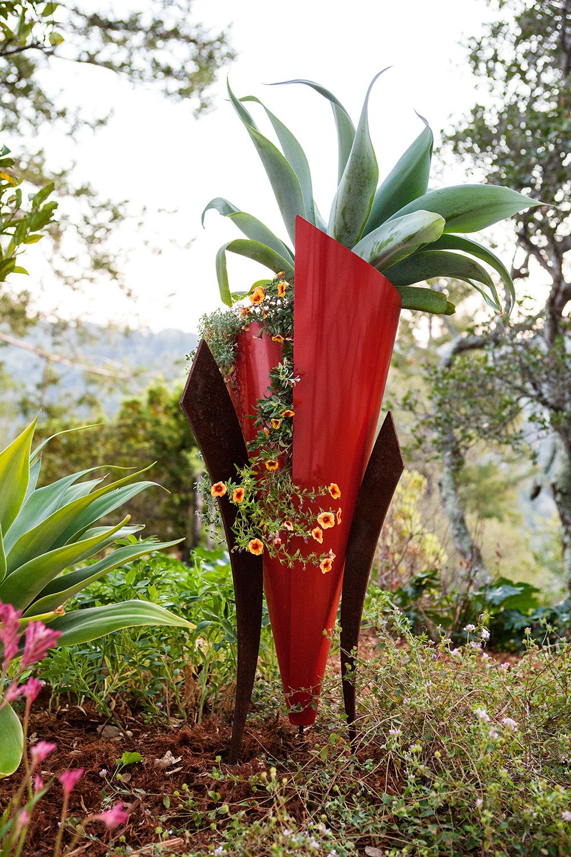 The Furl Planter by Arterra-Art Photo by Michele Lee Willson