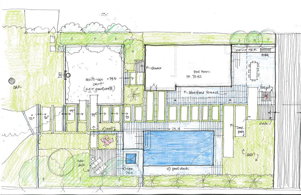Plan by Arterra Landscape Architects